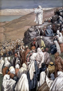 Beatitudes; painting by James Tissot