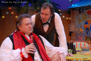 Sam Whited as Samuel Wilberforce and Chip Arnold as Thomas Huxley
