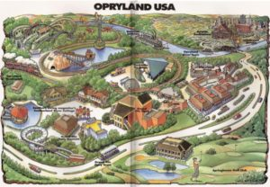 Map of Opryland