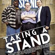 Cover of SCENE magazine: Barry Scott, Jim Reyland, and Chip Arnold