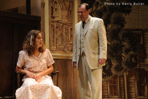 Marin Miller as Mayella Ewell and Chip Arnold as Atticus Finch