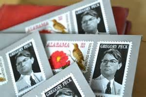 Atticus makes a stamp collection